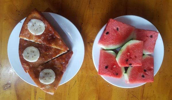 Ninh Binh breakfast